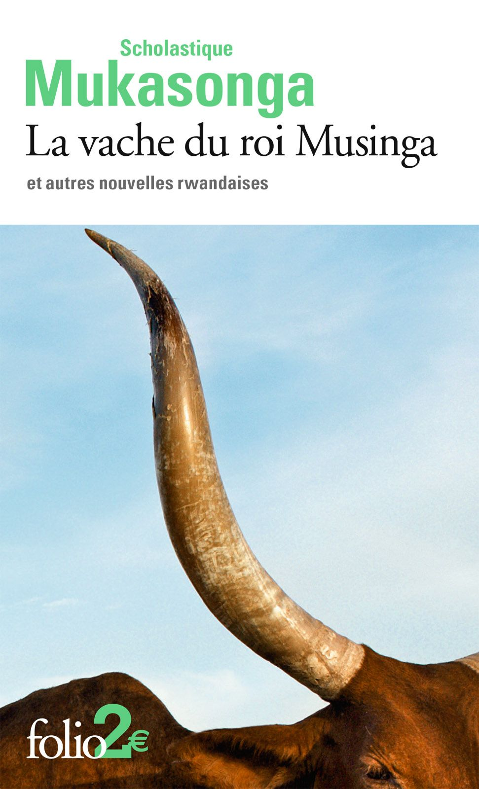 La vache du roi Musinga et autres nouvelles rwandaises   Mukasonga, Scholastique (1956-....). Auteur