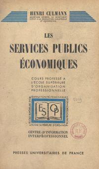 Les services publics économ...
