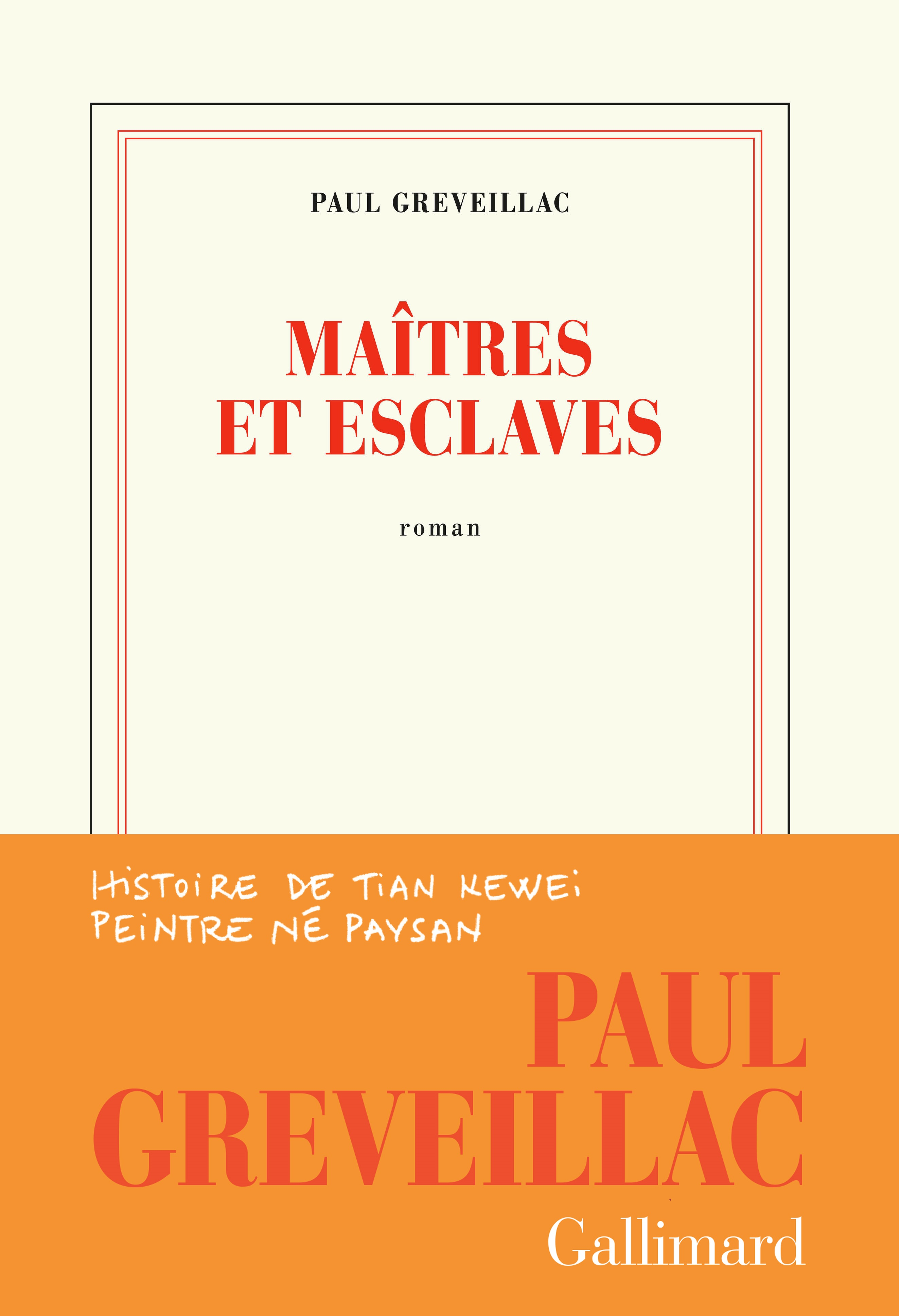 Maîtres et esclaves | Greveillac, Paul