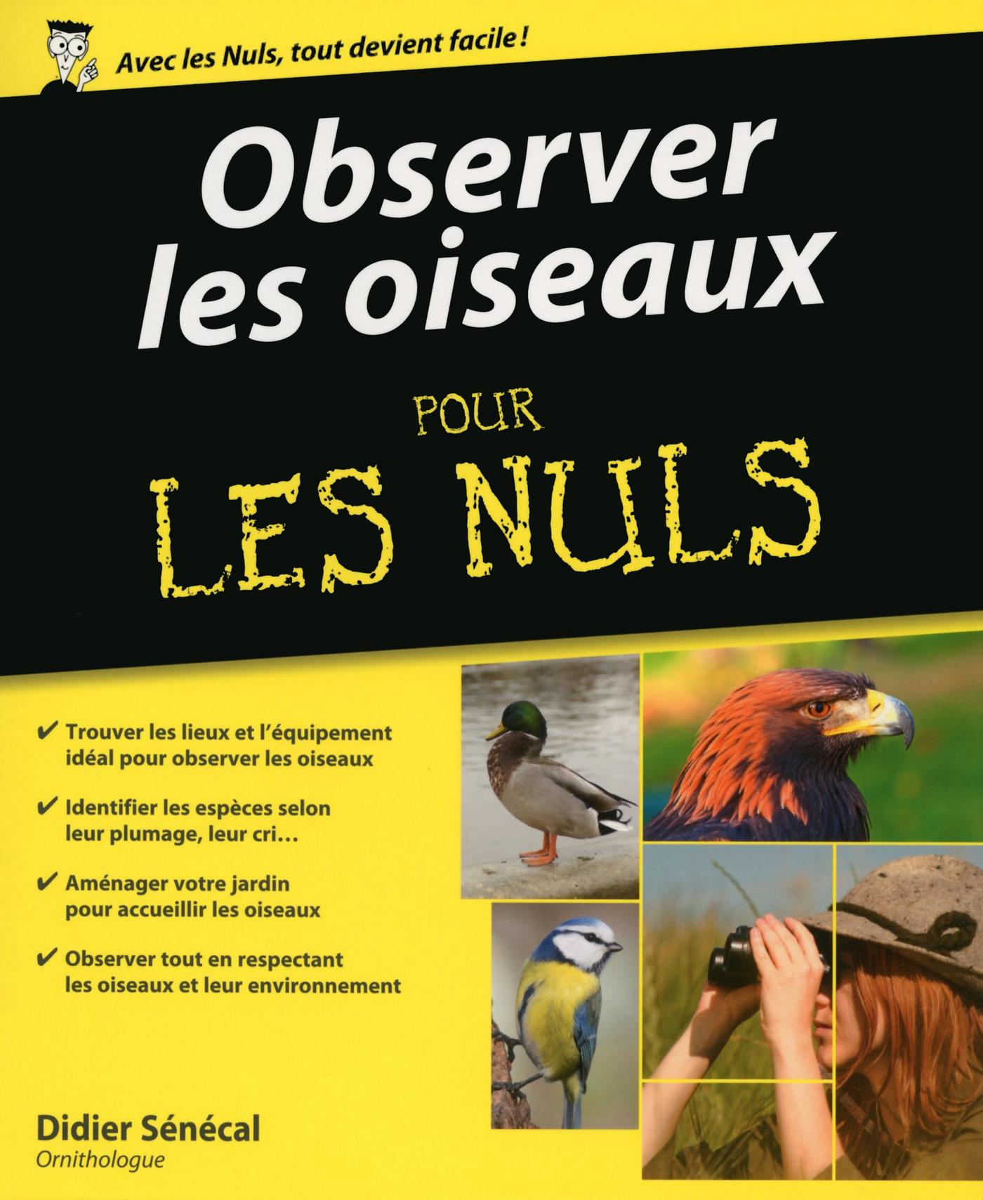 Observer les oiseaux pour les Nuls
