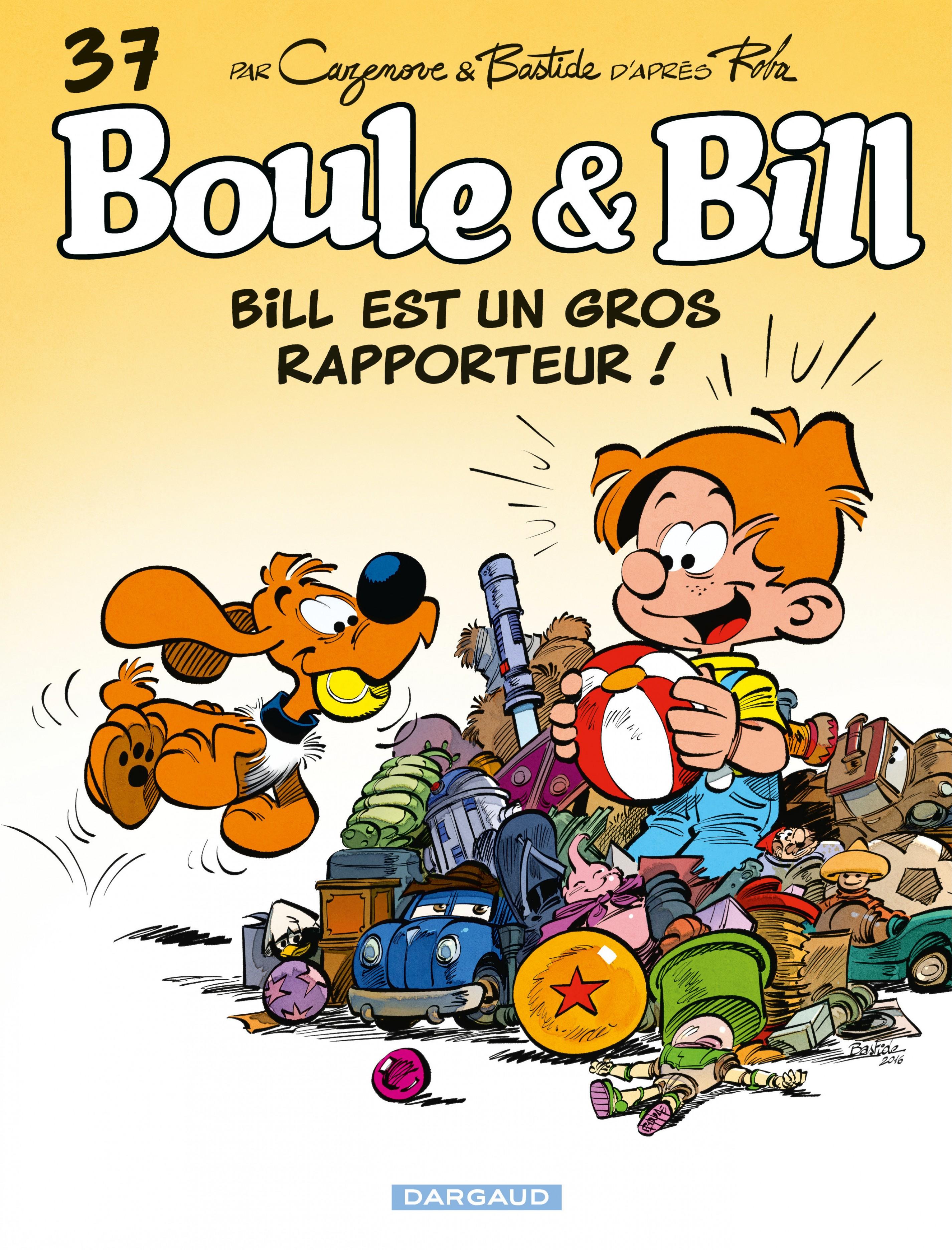 Boule et Bill - Tome 37 - Bill est un gros rapporteur !
