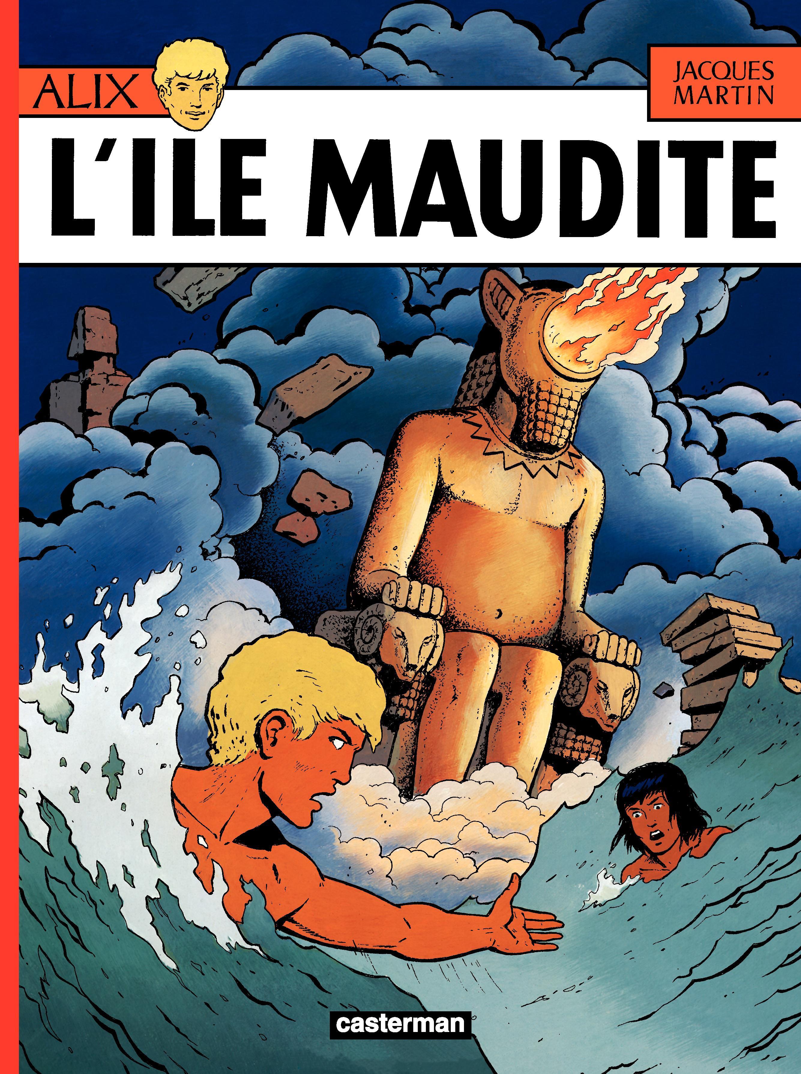 Alix (Tome 3) - L'île maudite