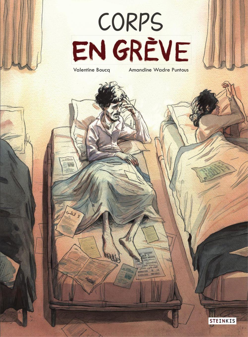 Corps en grève | Boucq, Valentine (1992-....). Auteur