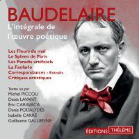Baudelaire. L'intégrale de ...