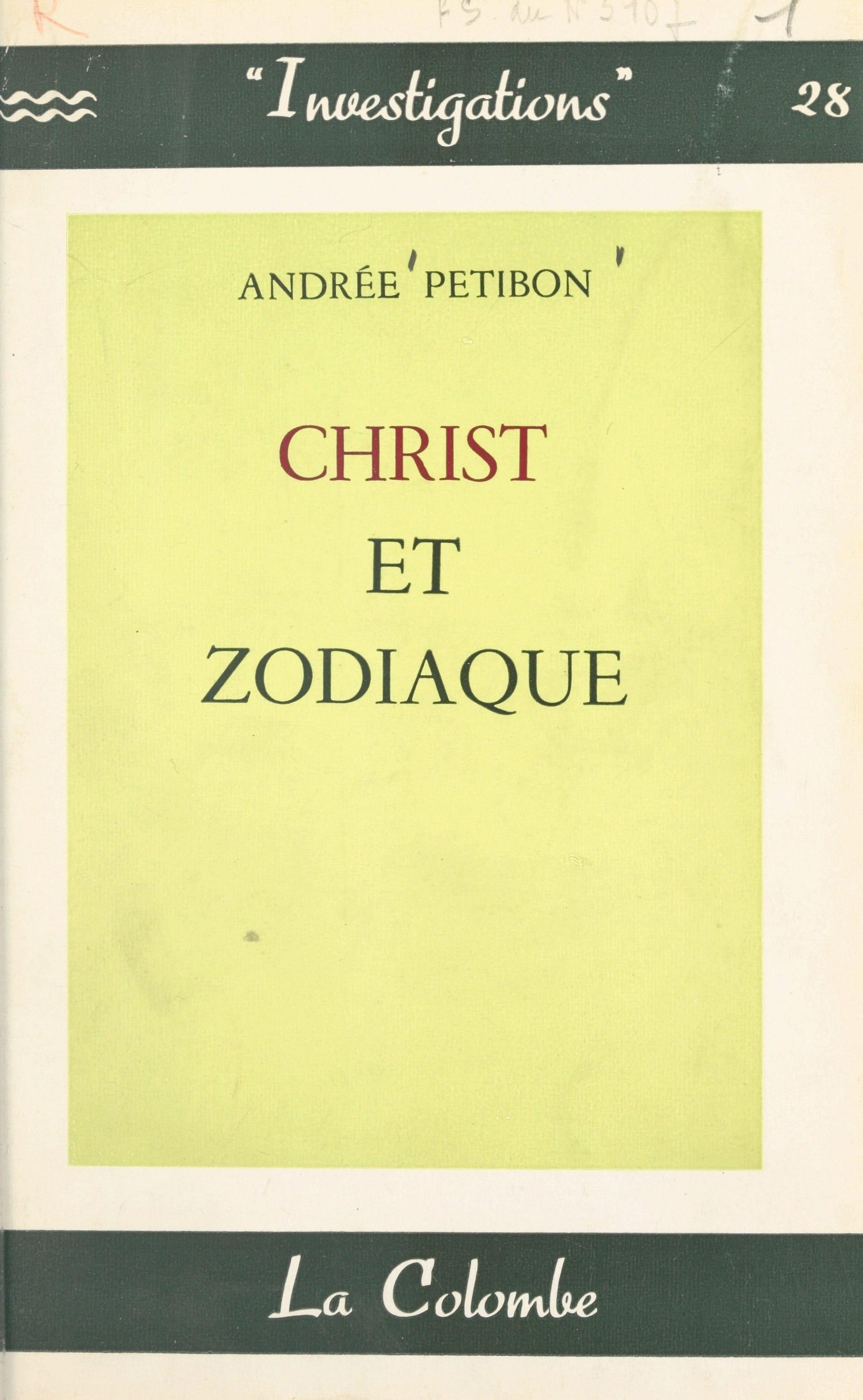 Christ et zodiaque