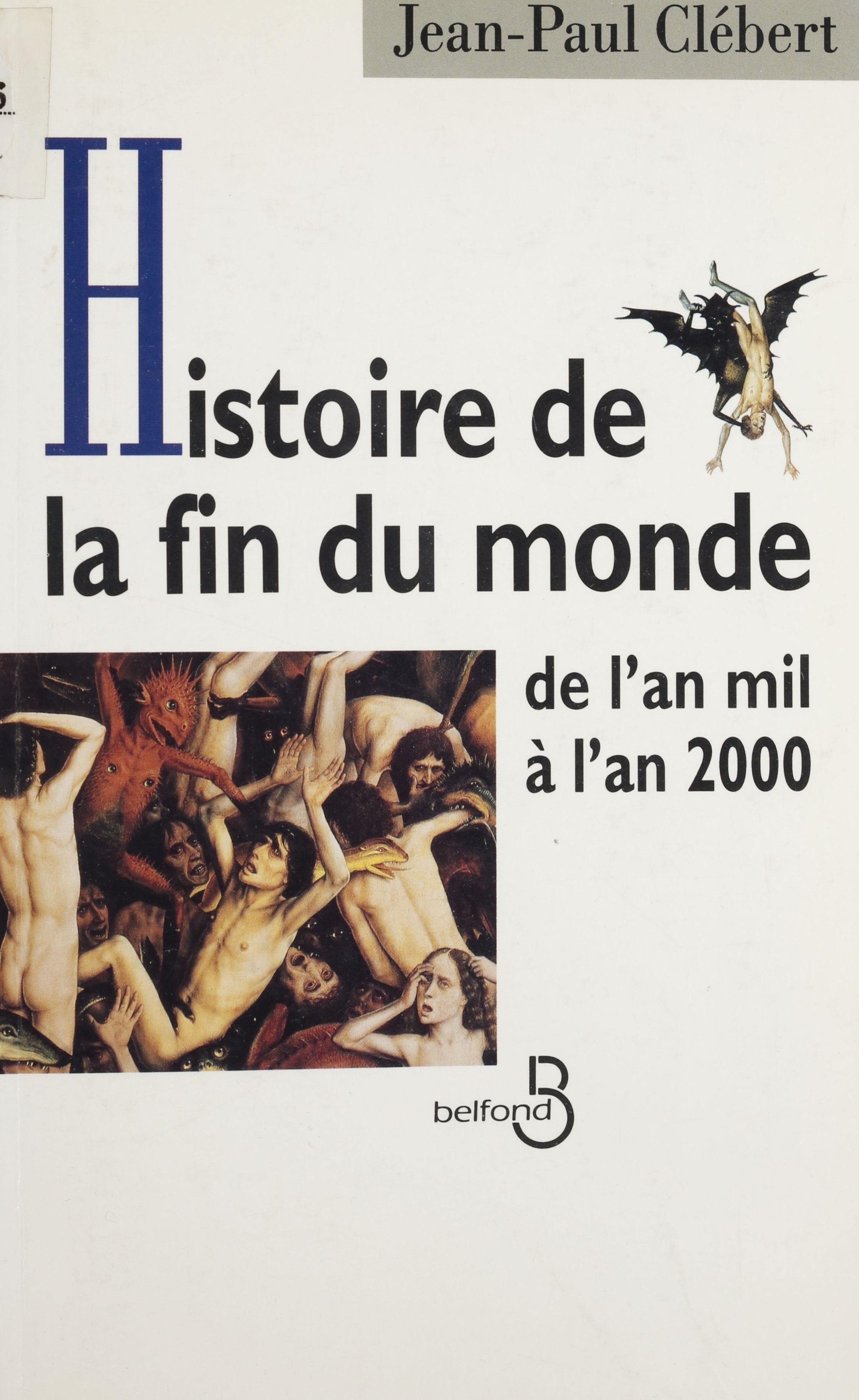 Histoire de la fin du monde