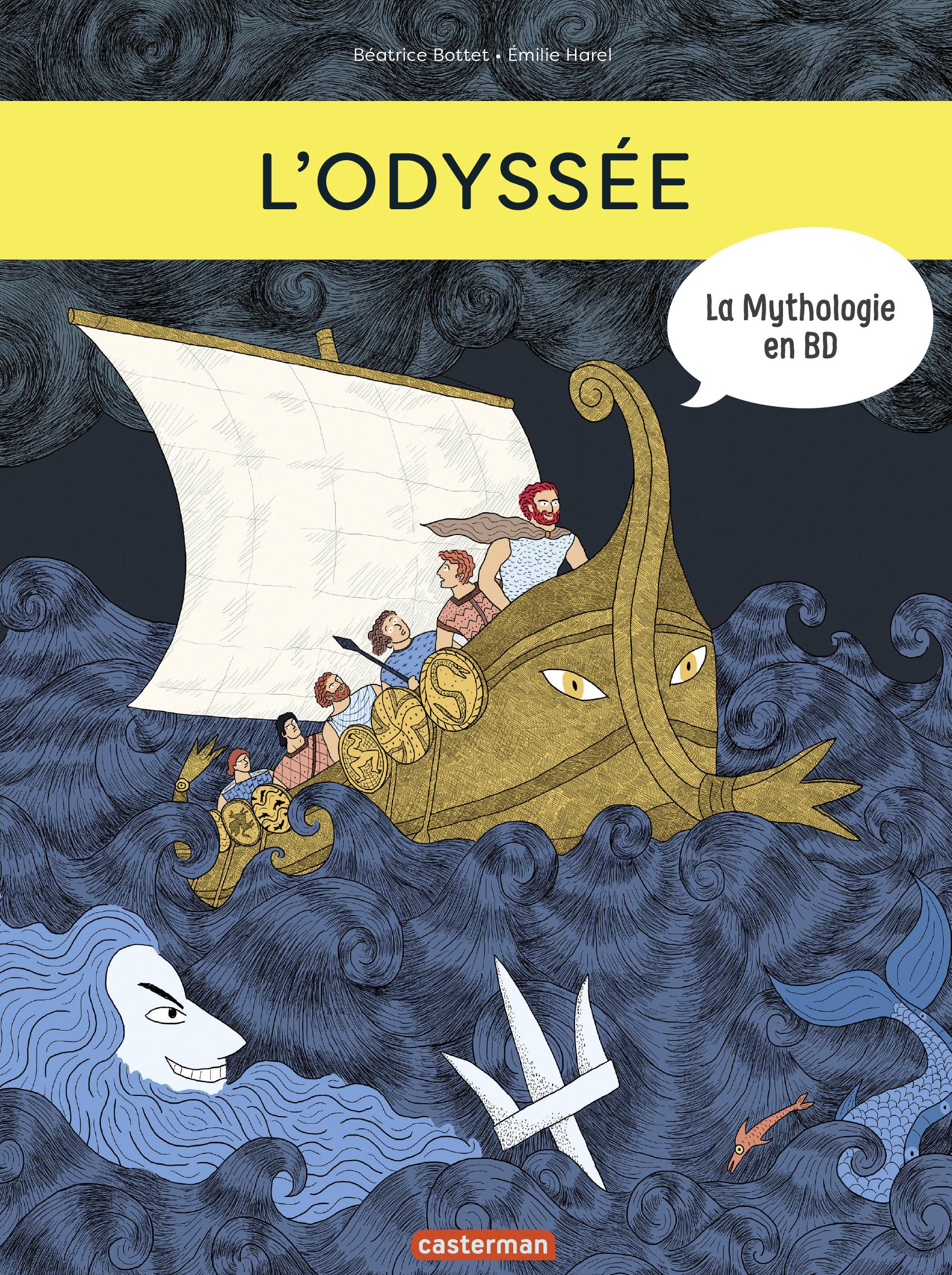 La Mythologie en BD - L'Odyssée | Bottet, Béatrice