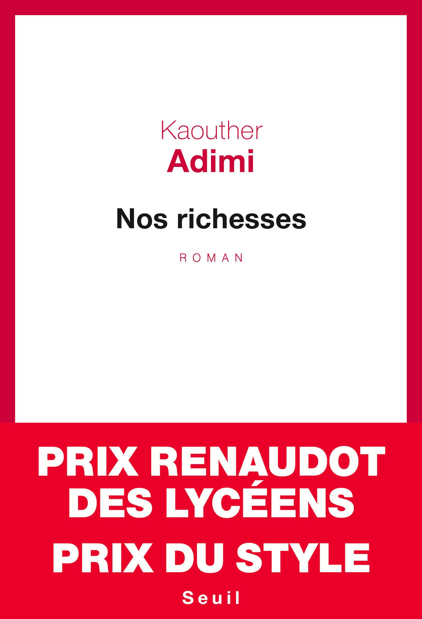 Nos richesses | Adimi, Kaouther