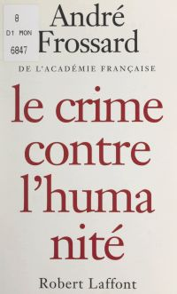 Le crime contre l'humanité