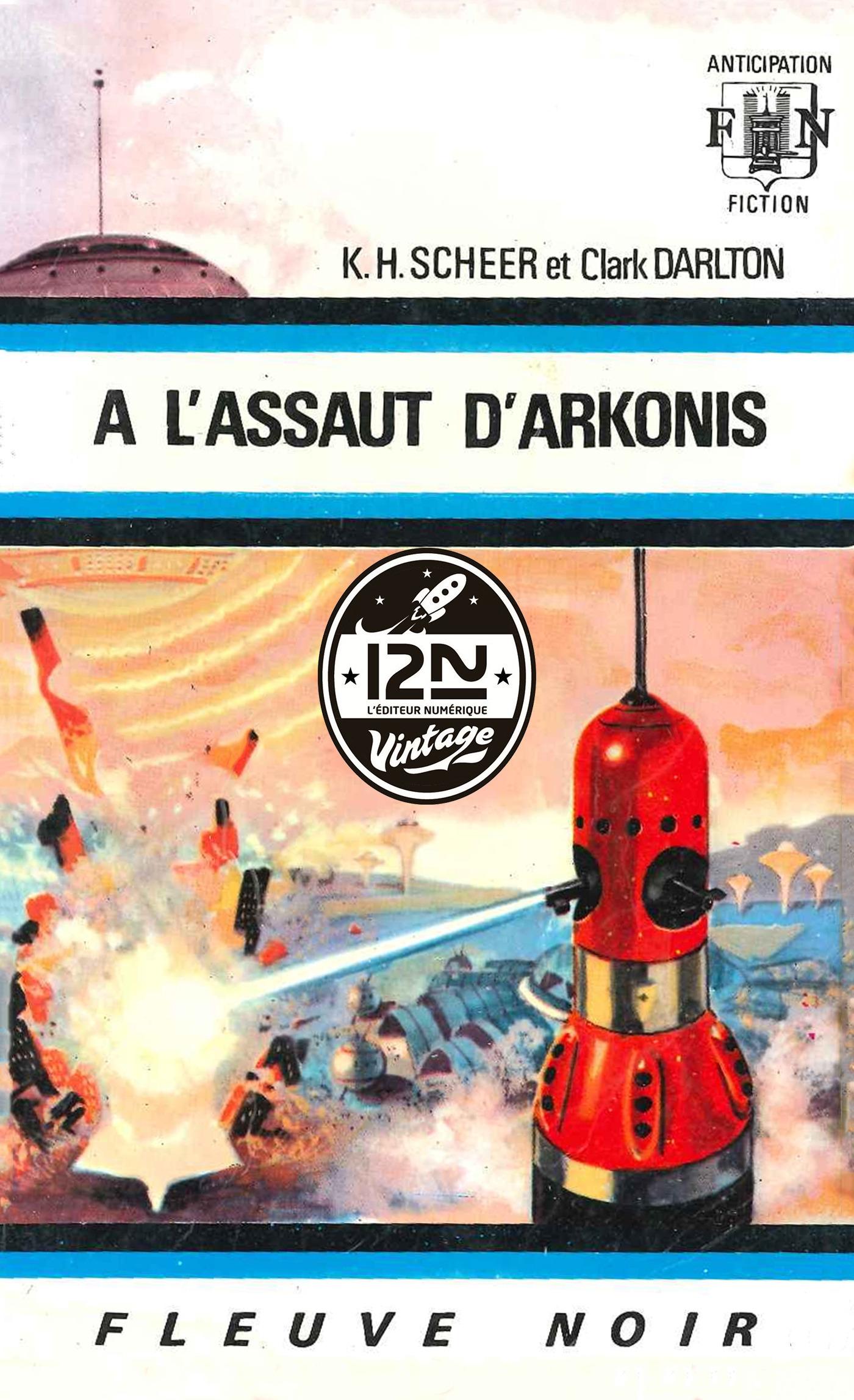 Perry Rhodan n°16 - A l'assaut d'Arkonis