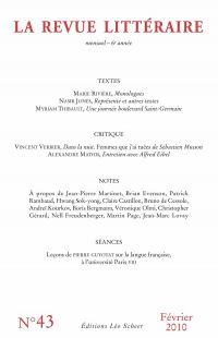 La Revue Littéraire N°43
