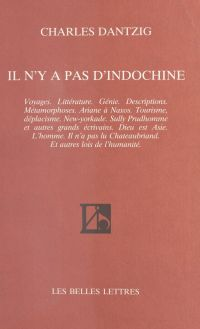 Il n'y a pas d'Indochine