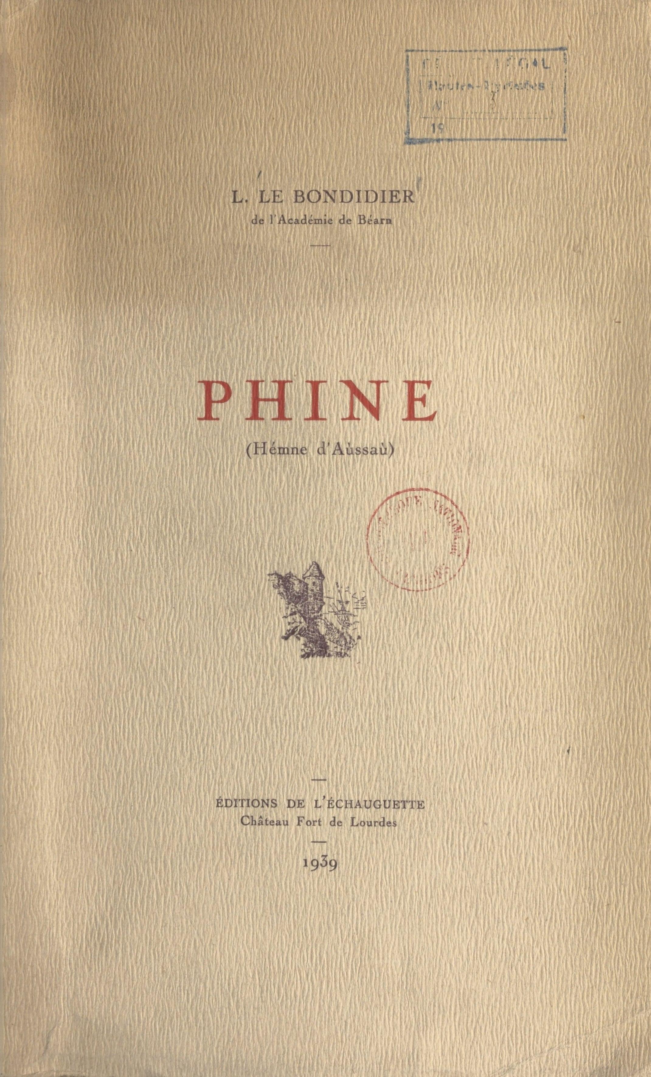 Phine, HÉMME D'AÙSSAÙ