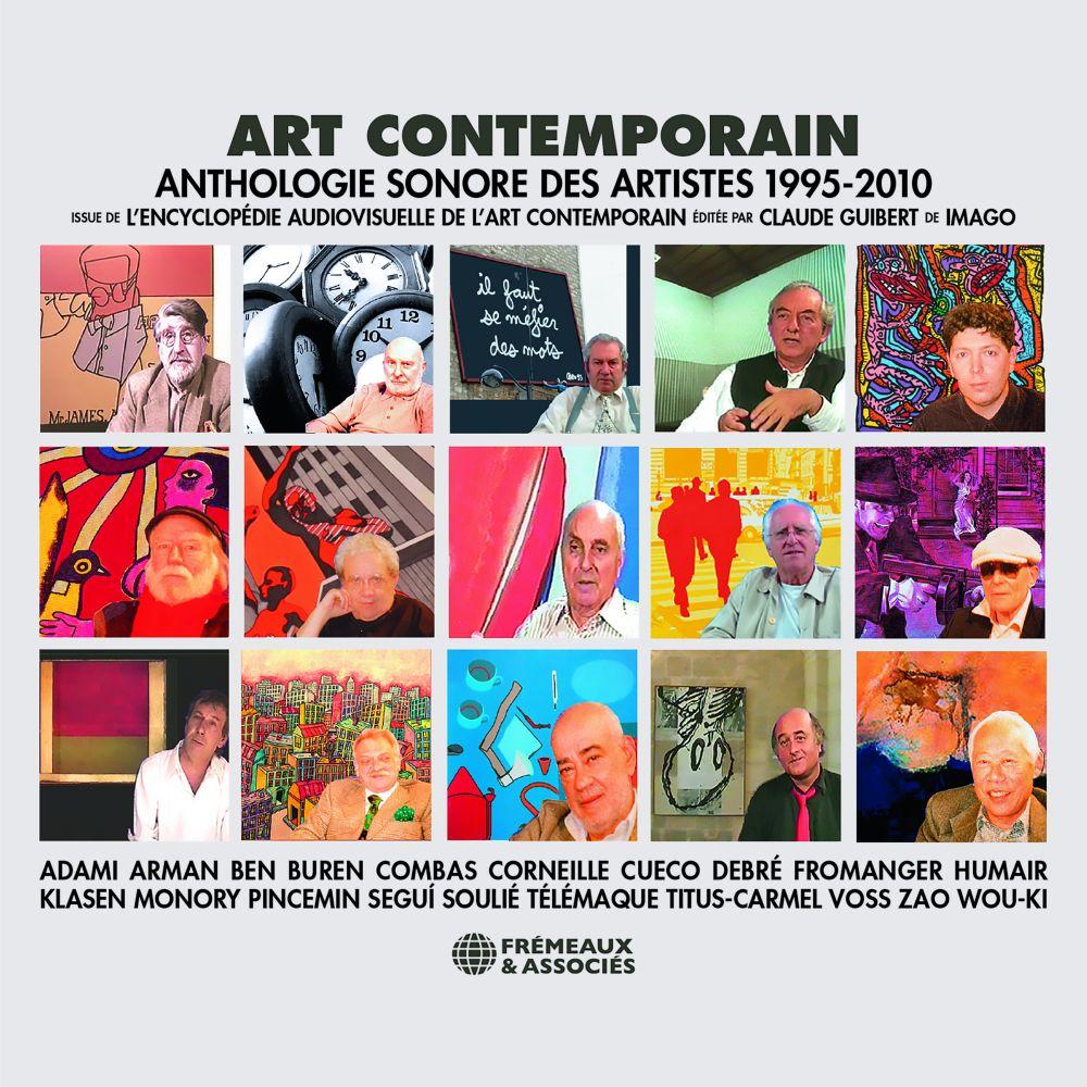 Art contemporain. Anthologie sonore des artistes 1995-2010 | Adami, Valerio. Auteur