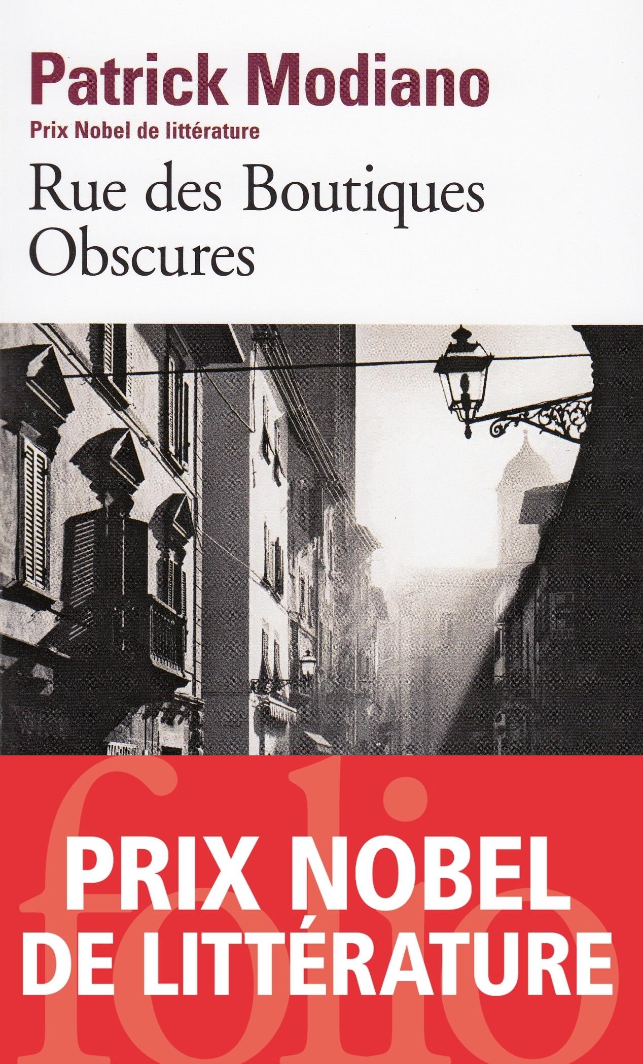 Rue des Boutiques Obscures | Modiano, Patrick