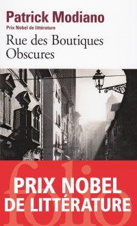 Rue des Boutiques Obscures | Modiano, Patrick. Auteur