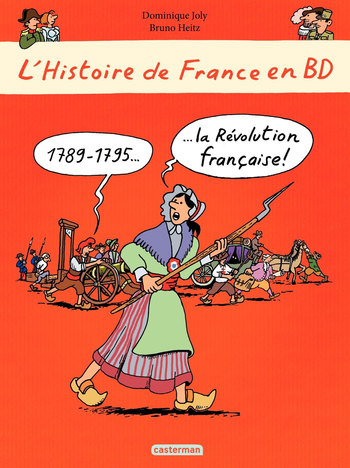 L'histoire de France en BD - 1789-1795 La Révolution française
