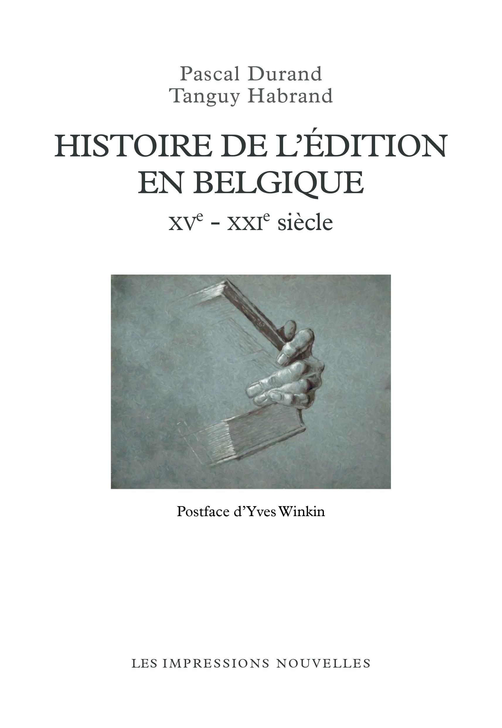 Histoire de l'édition en Be...