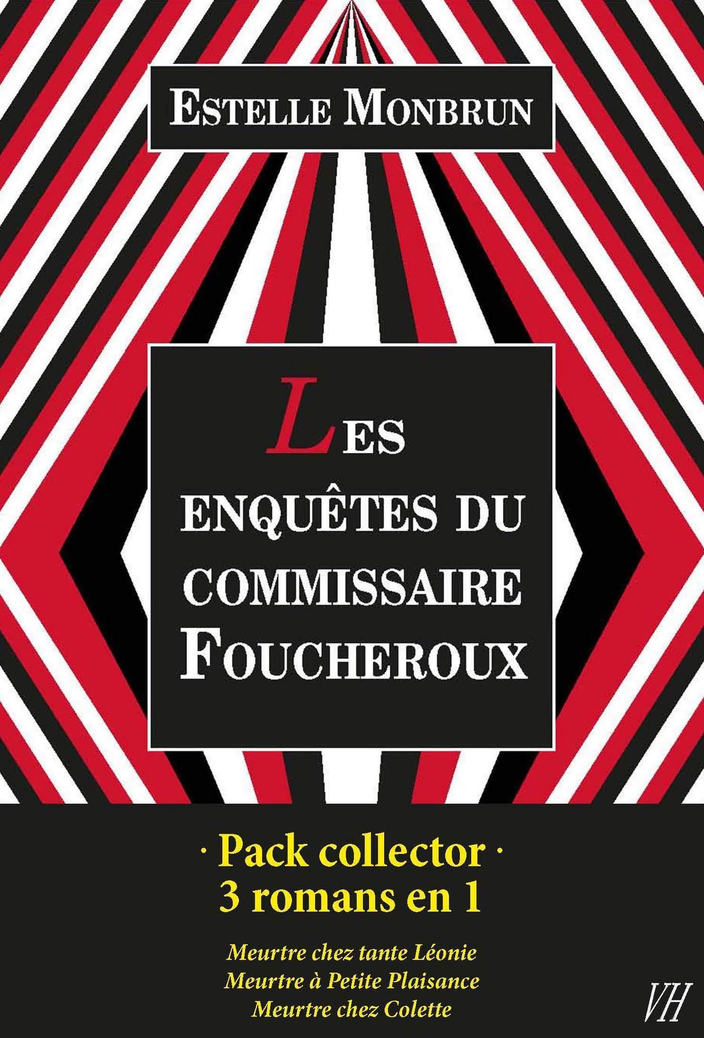 Pack collector Estelle Monbrun - Les enquêtes du commissaire Foucheroux