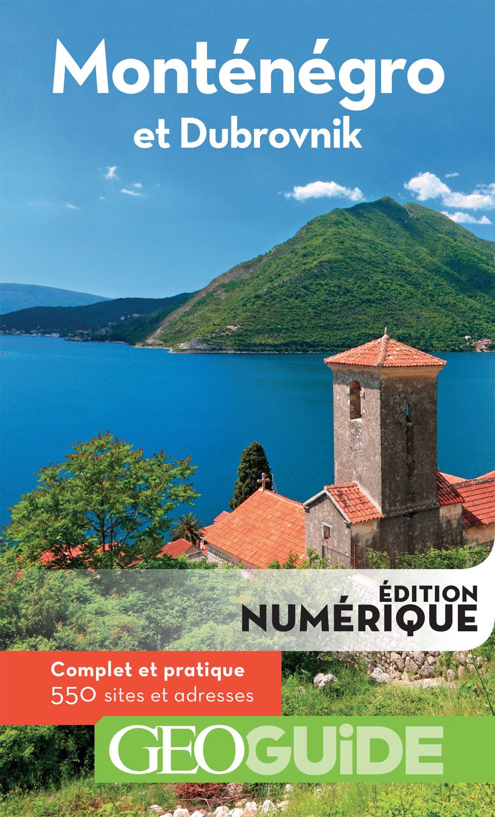 GEOguide Monténégro et Dubrovnik | Collectif Gallimard Loisirs,