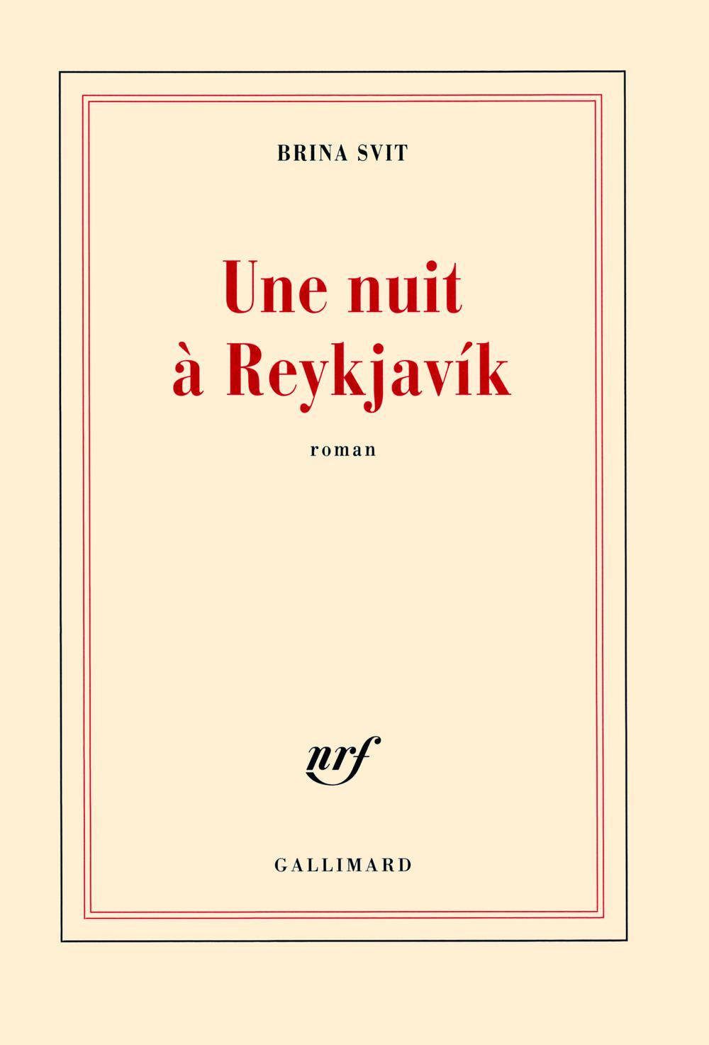 Une nuit à Reykjavík