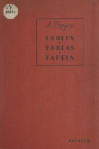 Tables des fonctions trigon...