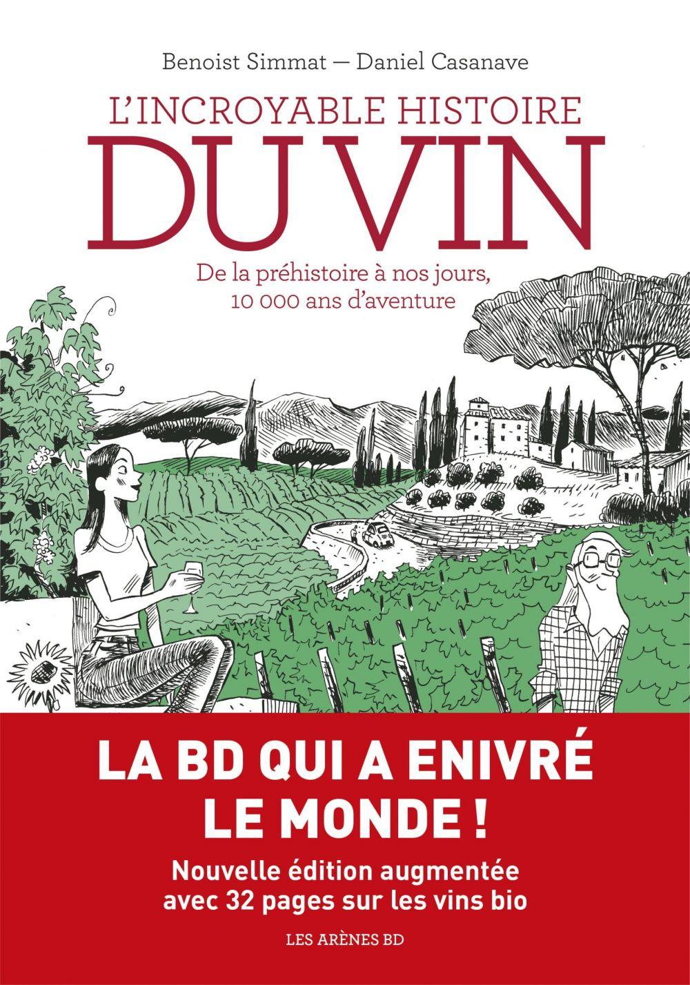 L'Incroyable histoire du vin (nouvelle édition)   Simmat, Benoist (1973-....). Auteur