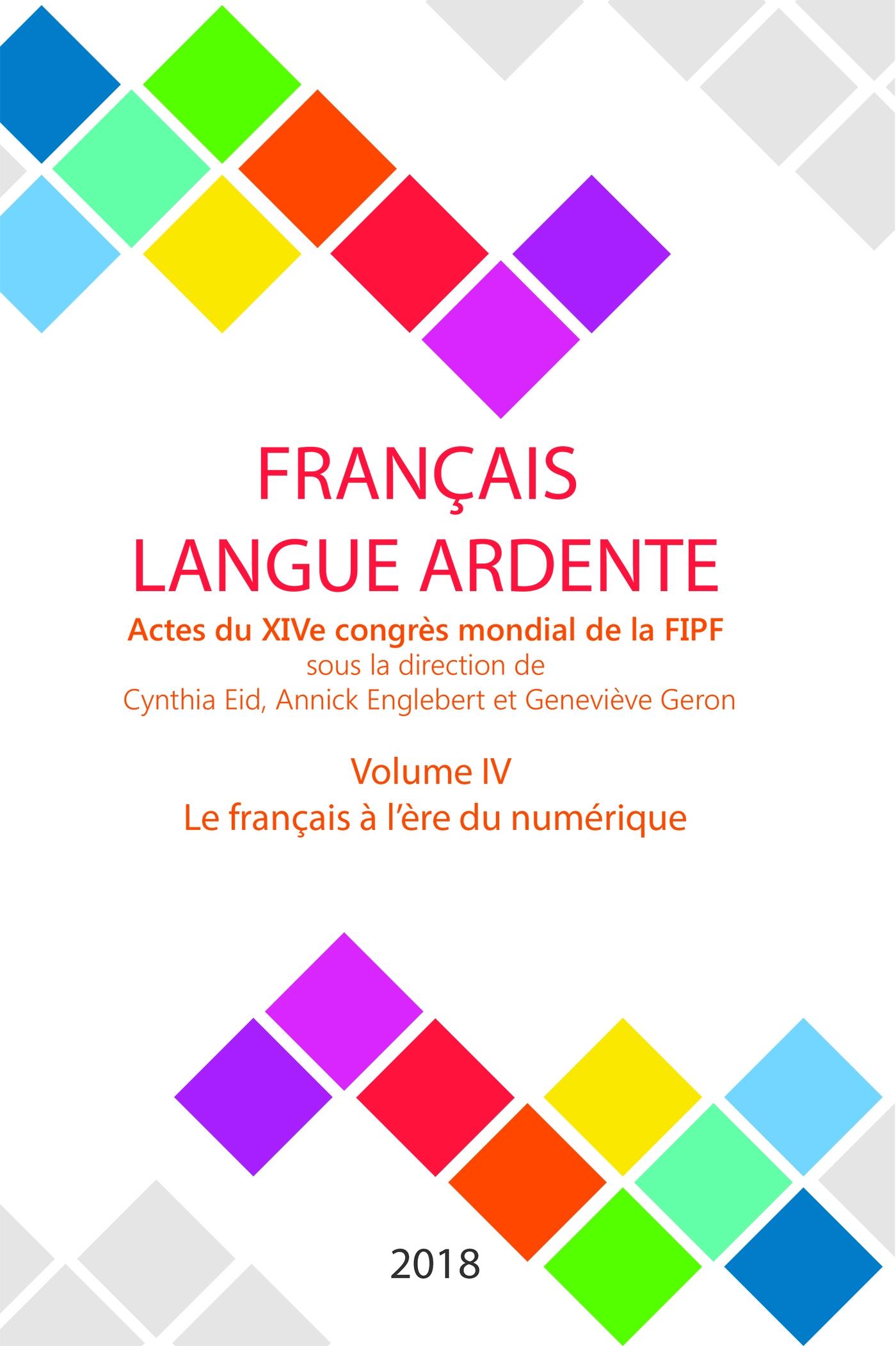 Le français à l'ère du numé...