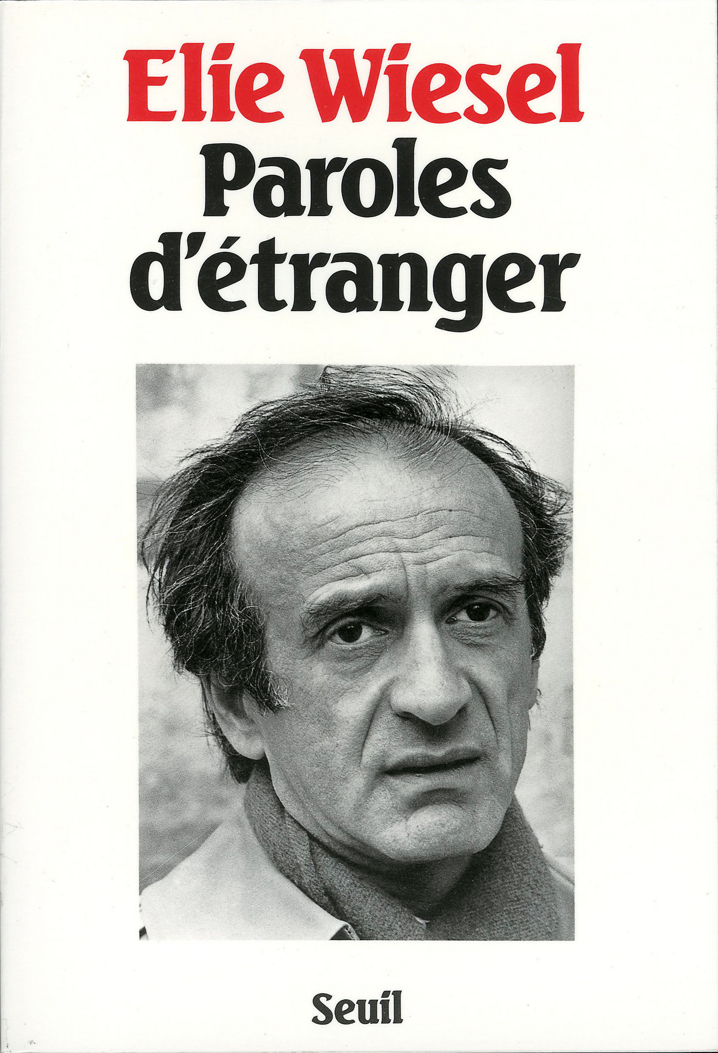Paroles d'étranger