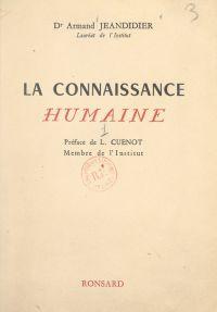 La connaissance humaine