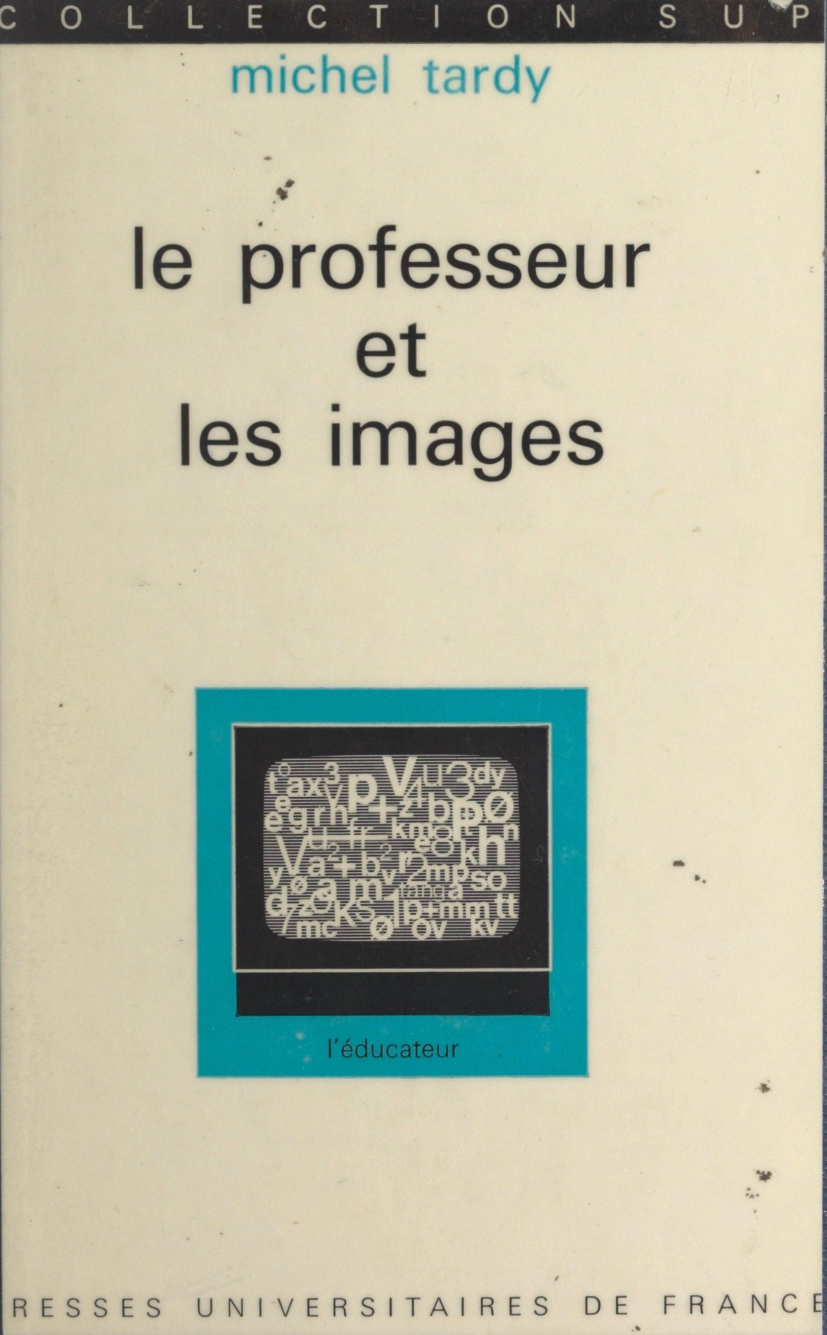 Le professeur et les images