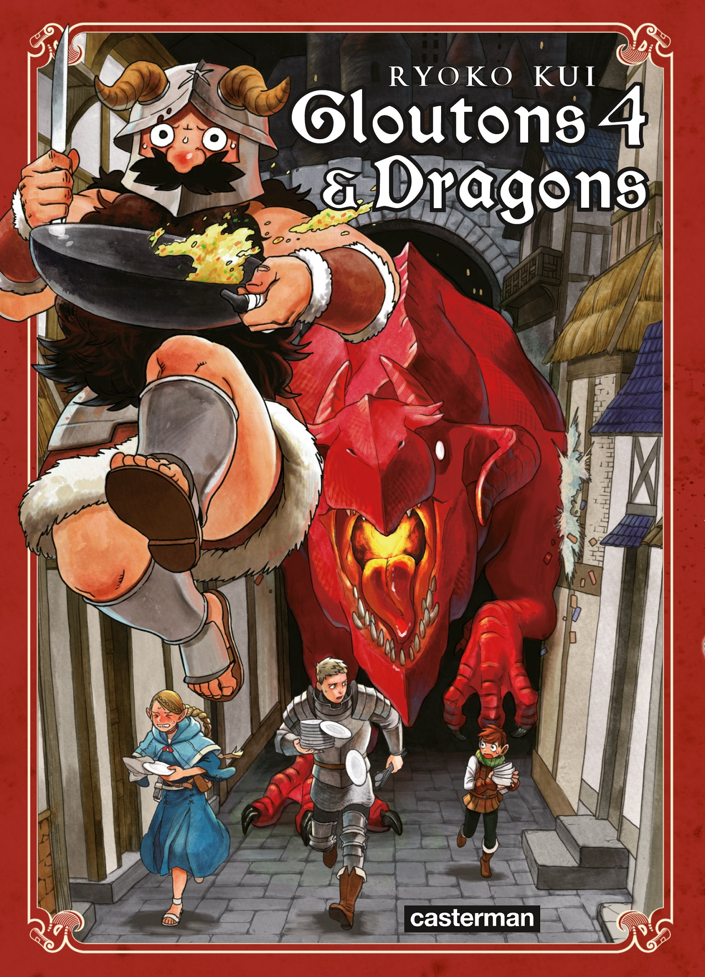 Gloutons et Dragons (Tome 4)