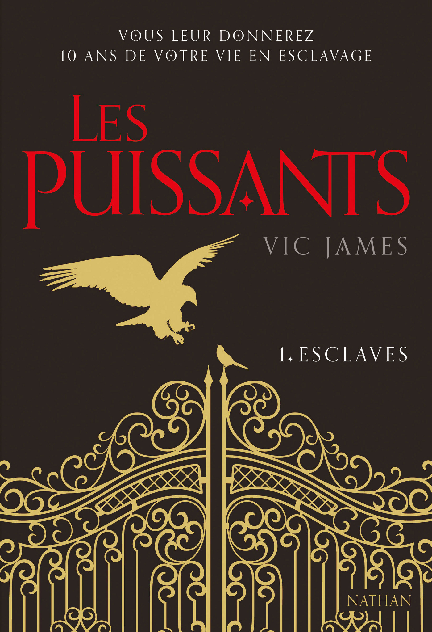 Les Puissants Tome 1 : Esclaves | James, Vic