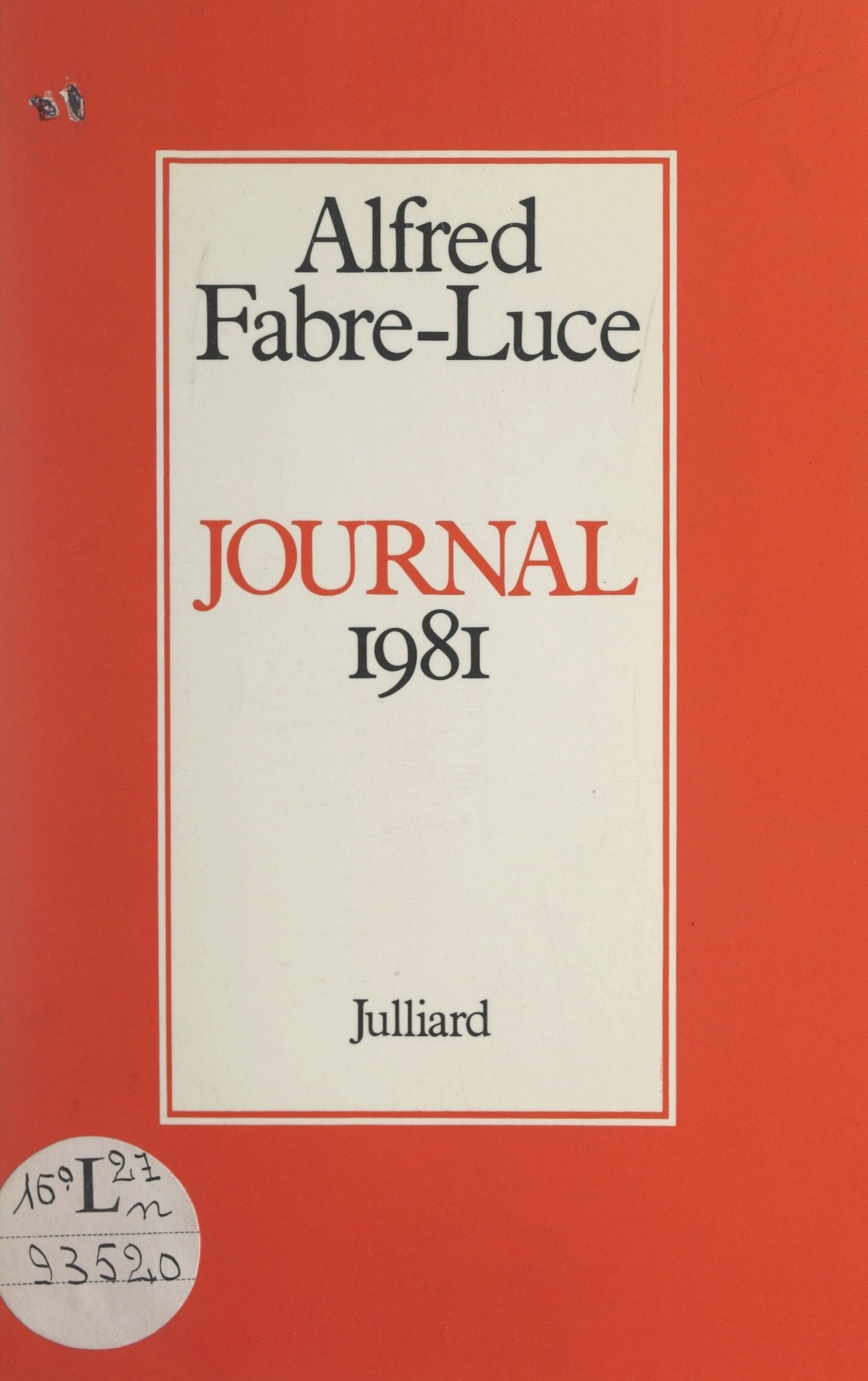 Journal 1981