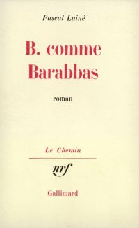 B. comme Barabbas
