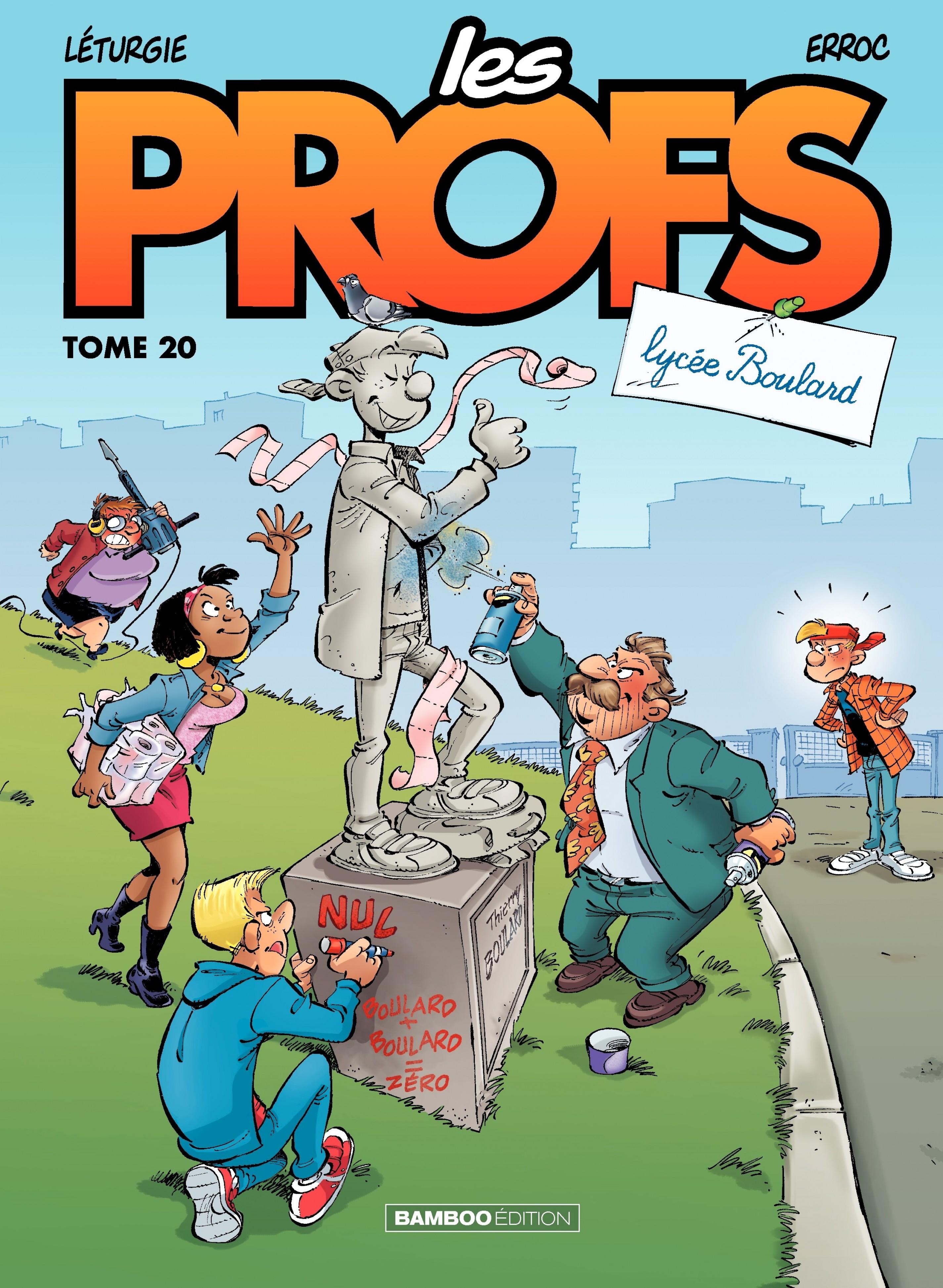 LES PROFS - TOME 20 - LYCEE BOULARD