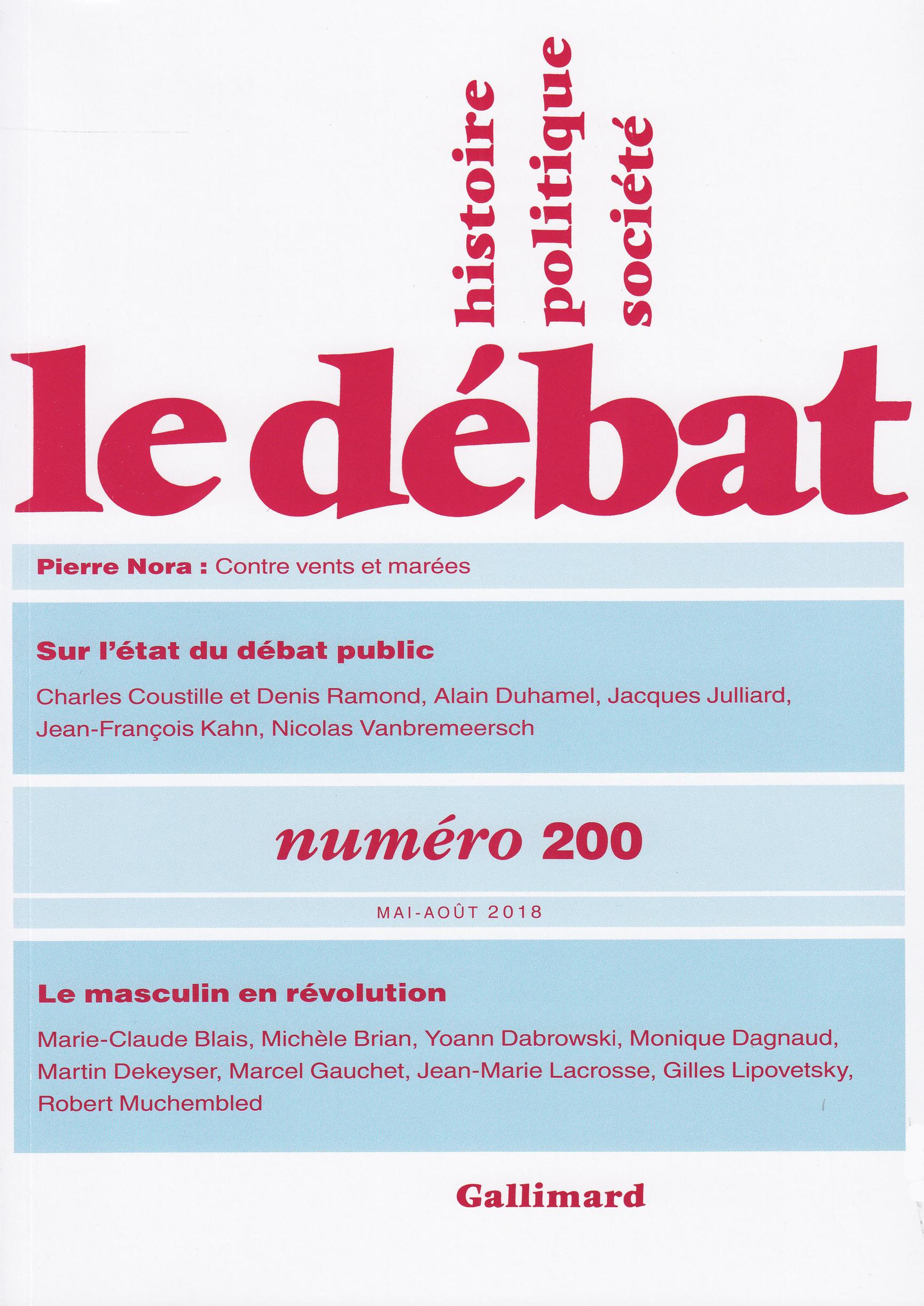 Le Débat N° 200 (Mai - août...