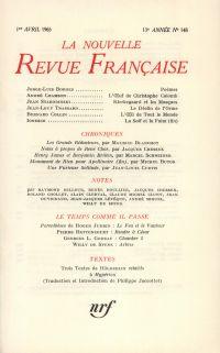 La Nouvelle Revue Française N' 148 (Avril 1965)