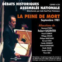 La peine de mort. Débats de l'Assemblée Nationale (septembre 1981) | Badinter, Robert. Auteur