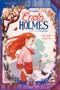 Enola Holmes - Tome 1 - La double disparition | Serena Blasco, . Illustrateur