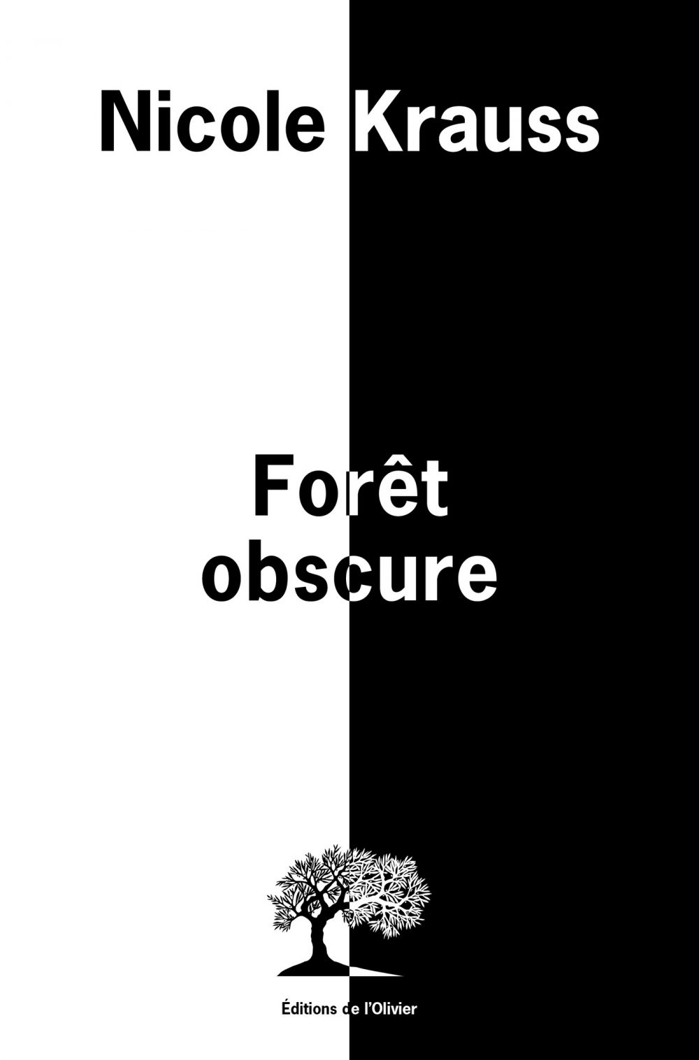 Forêt obscure | Krauss, Nicole. Auteur