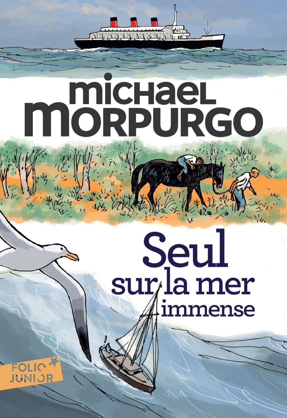 Seul sur la mer immense   Morpurgo, Michael. Auteur