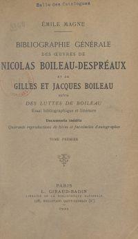 Bibliographie générale des ...