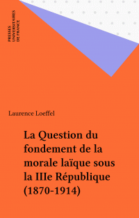 La Question du fondement de...