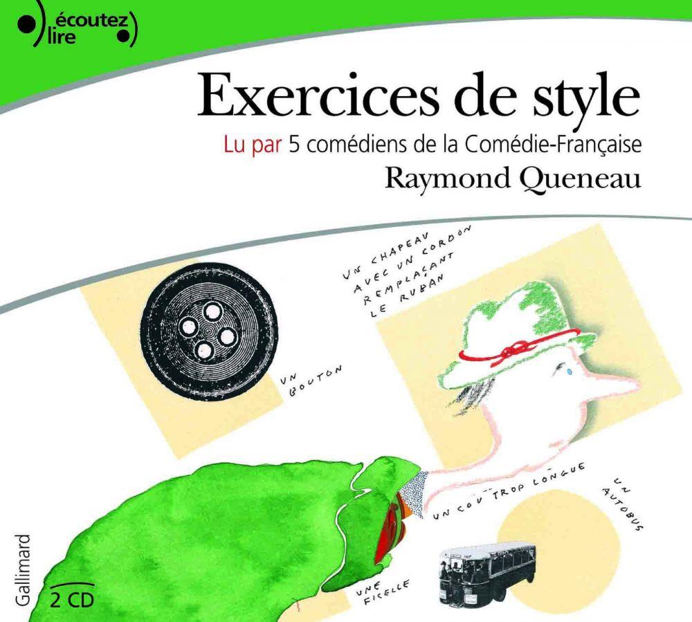 Exercices de style | Queneau, Raymond. Auteur