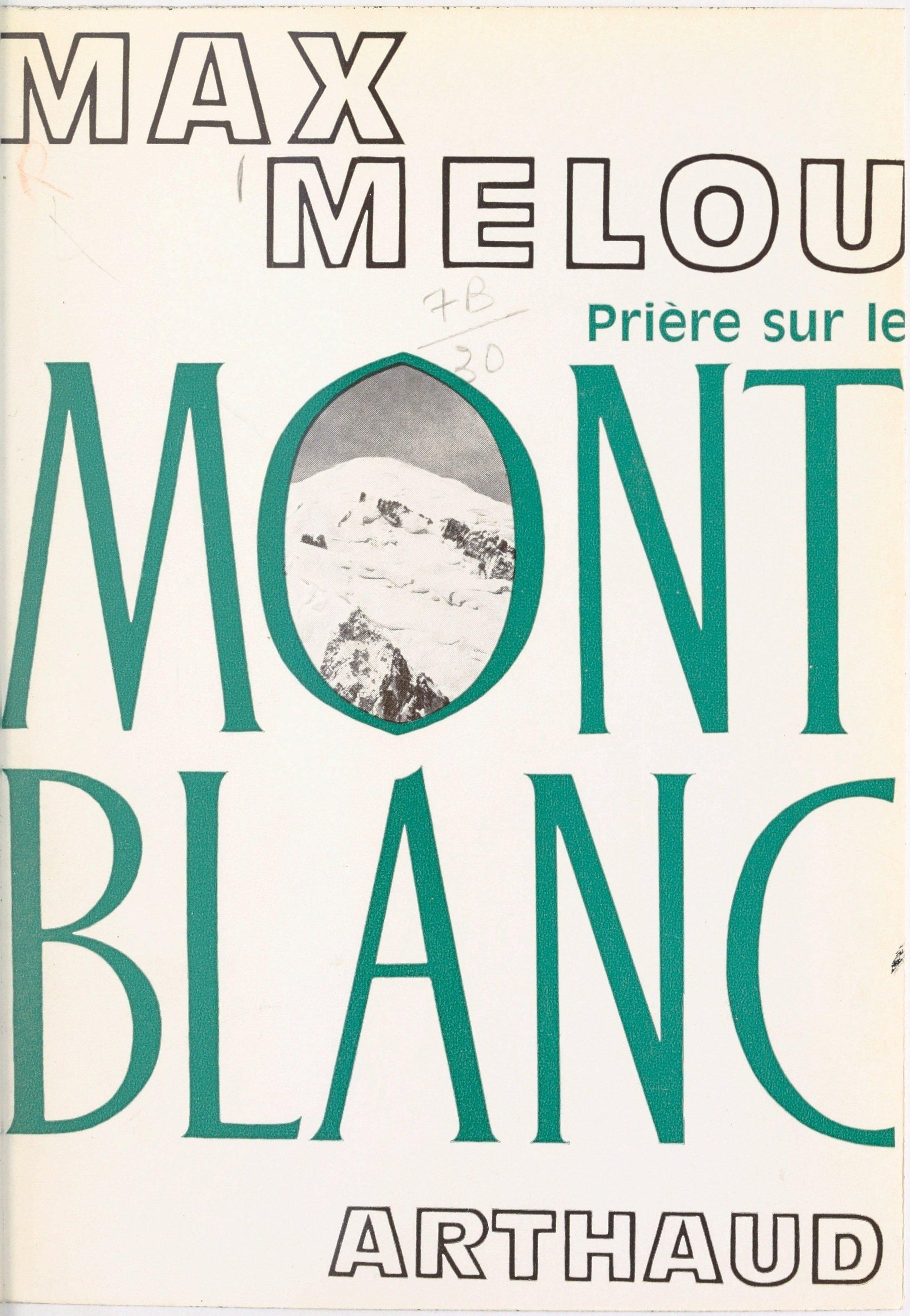 Prière sur le Mont Blanc