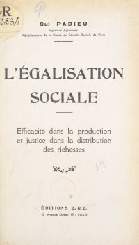 L'égalisation sociale