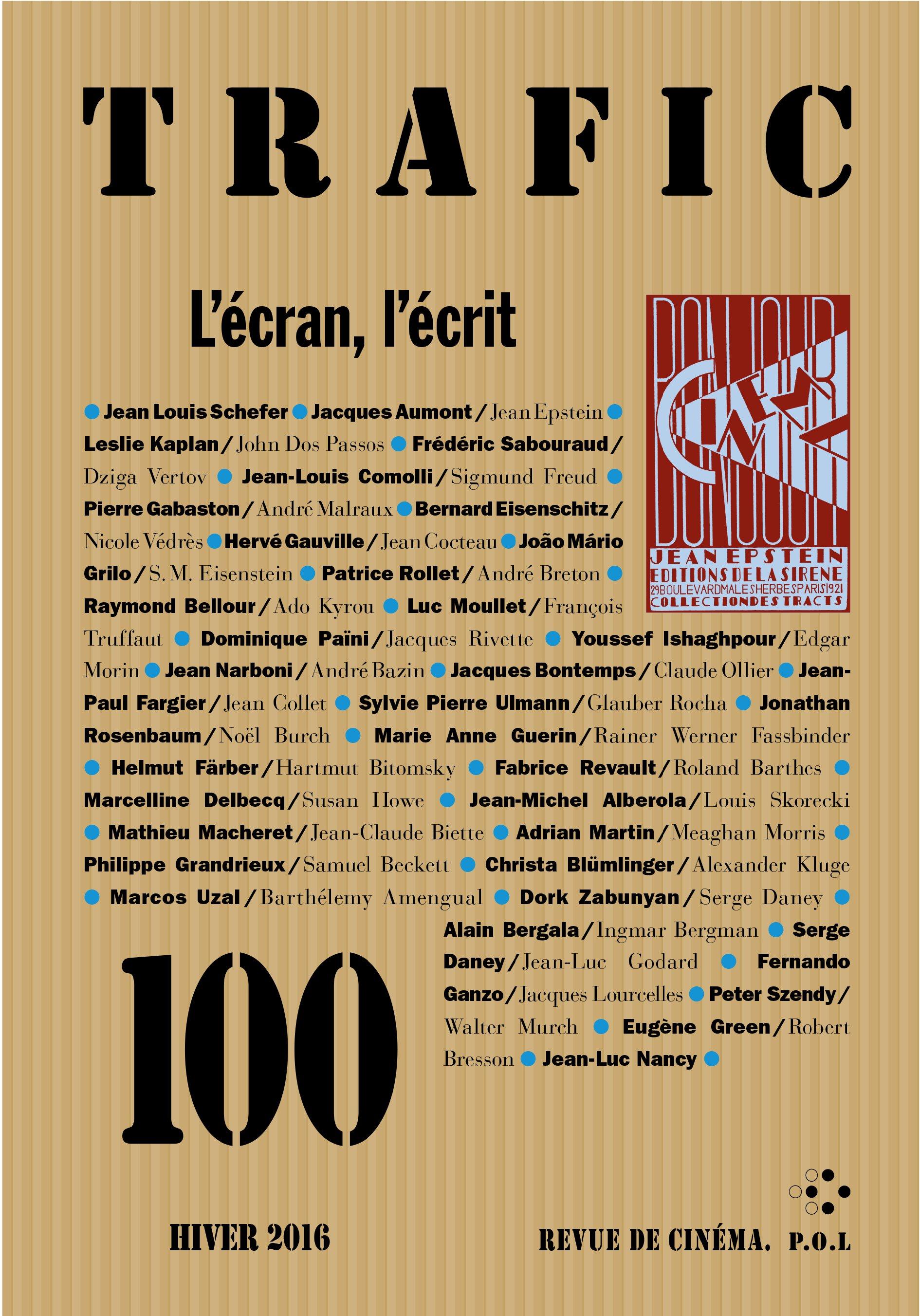 Trafic N° 100 (Hiver 2016)
