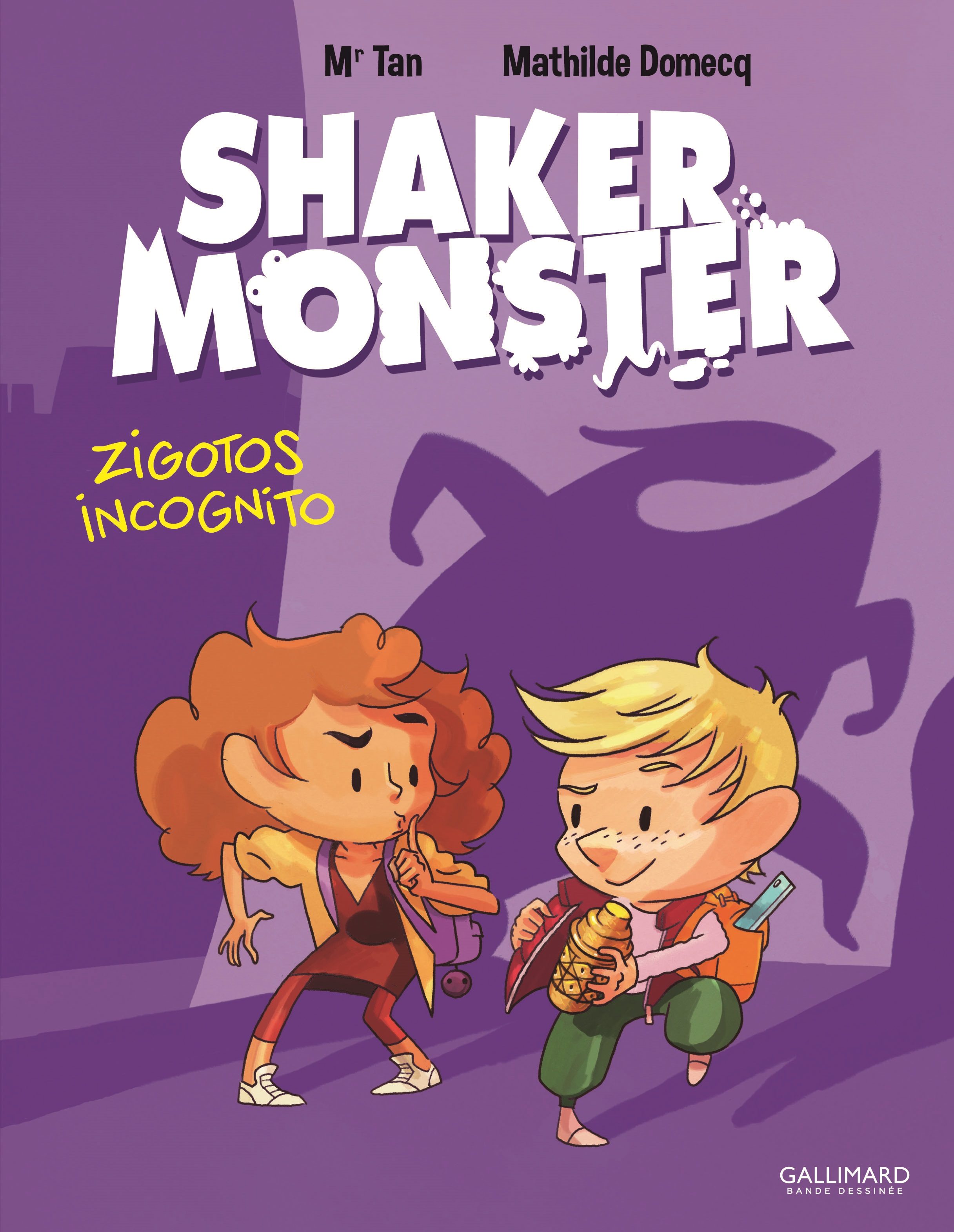 Shaker Monster (Tome 2) - Zigotos incognito | Mr Tan