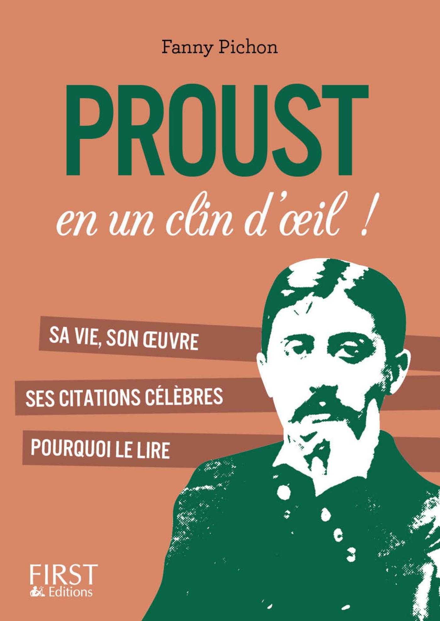 Petit livre de - Proust en un clin d'oeil